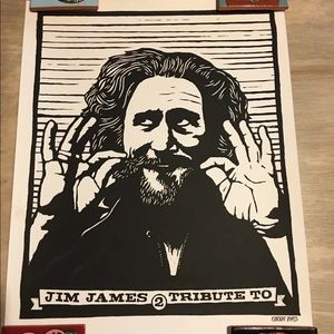 My Morning Jacket Jim James Poster